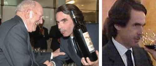 Aznar s'ha tornat alcoholic?