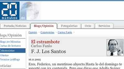Article Carlos Fanlo
