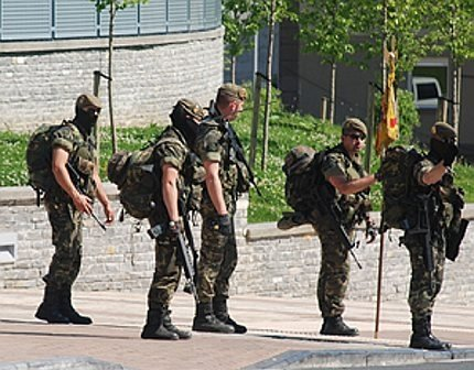 Soldats espanyols a hernani