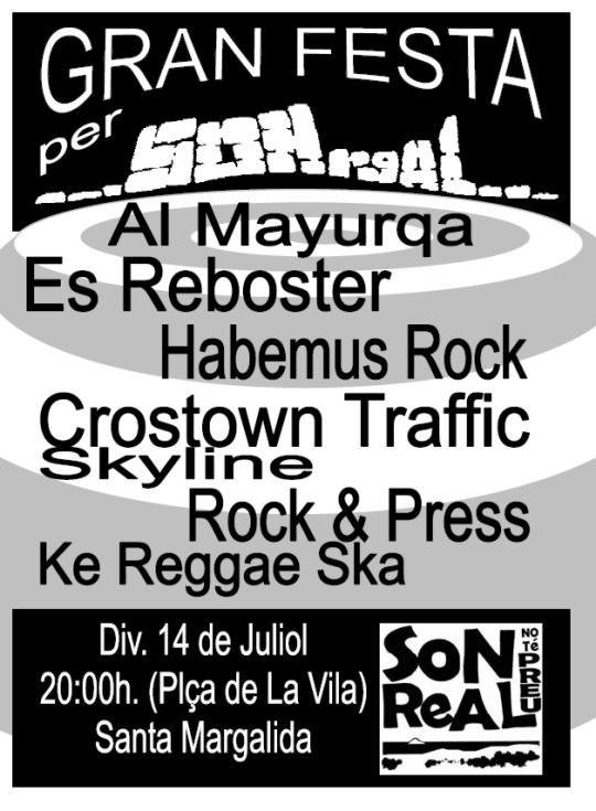Gran festa per Son Real, 14 de juliol de 2006