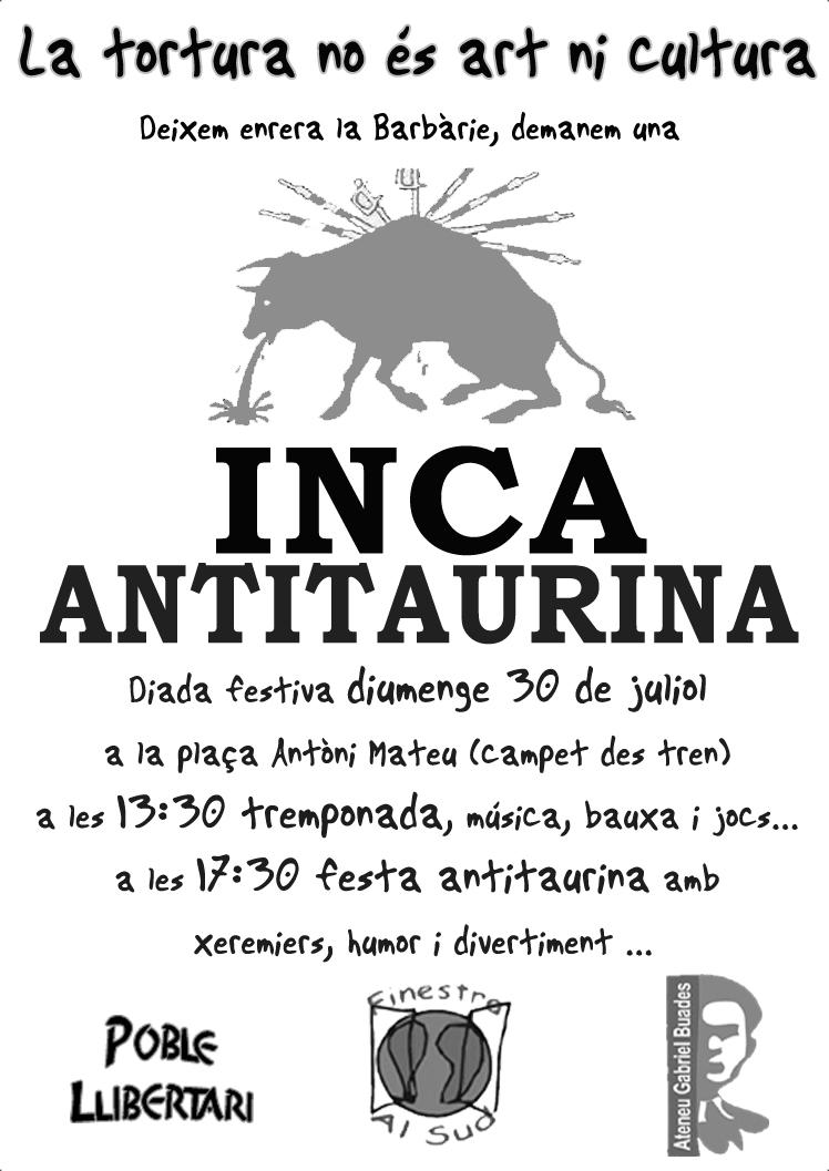 Poster Inca 30 juliol