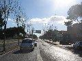 Carretera Alcúdia-Artà al seu pas per Can Picafort.