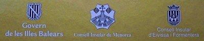 Govern de les Illes Balears, Consell Insular de Menorca y Consell Insular d'Eivissa i Formentera